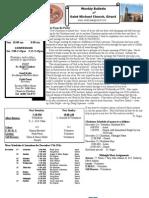 St. Michael's December 18, 2011 Bulletin