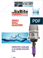MixRite Elektriksiz Oransal Klor Dozaj Pompası - 2502CL - Klor Dozajlama