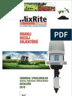 MixRite Elektriksiz Oransal Dozaj Pompasi - 2504IR -Tarim Damlama Sulama