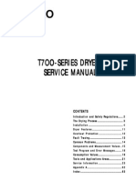 ASKO T700-Series Dryer Service Manual