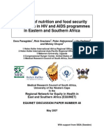 Food Security AIDS May2007