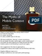 Mobile Context Myth Fowd