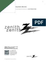 ZenithZ56DC1D_InstallandOperatingGuide