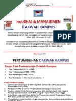 Manhaj Dan Manajemen Dakwah Kampus @Bach Jan 2011