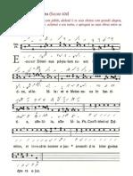 Cânticos para o Ritual de Baptismo