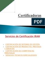 Certificadoras POWER POINT