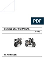 Aprilia SL 750 Shiver Workshop Manual