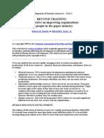 Development of Human Resources,PA210