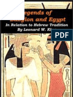Legends of Babylon and Egypt in Relation to Hebrew Tradition - Leonard W. King