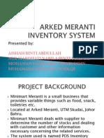 Arked Meranti Inventory System