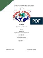 Electrónica Analógica II - Practica #3