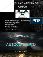 Autoconcepto Expo Social