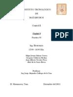 Control II - Practica #3 (Unidad III)