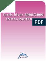 Prix Hiver 2008-2009 Indo-pacifique