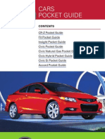 2012 Cars Pocket Guide