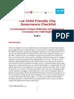 264 the Child Friendly City Governance Checklist Final (041511)