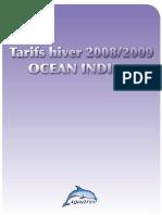 Prix Hiver 2008-2009-Ocean Indien