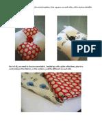 Paper String Cloth Pincushion Tutorial