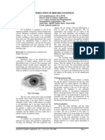 Optimization in Iris Recognition
