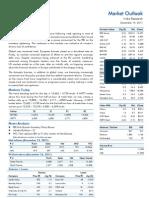 Market Outlook 19th December 2011