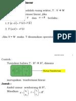 [1]Transformasi Linear