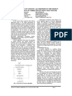 VOL2I4P1- Application Of Genetic Algorithms In The Design Optimization Of Three Phase Induction Motor