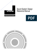 JBL Sound System Design Manual by Enigma Electronic A