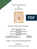 Desarrollo y Evaluación de Proyectos - Proyecto