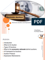 Electronic Auctions and Expressive Mechanisms