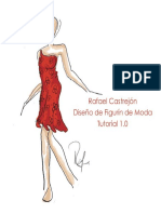 Rafael Castrejón - Diseño del figurín de moda