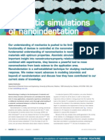 Atomistic Simulations of Nano-Ind
