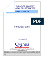 Indian Dyestuff Industry-FICCI Whitepaper-180906
