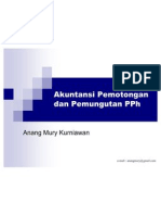Akuntansi Pajak - Pemotongan Dan Pemungutan PPh