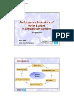 GEN PRS PI of Water Losses AC Apr08