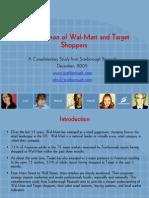 Scar Borough Walmart Target Shopper Analysis