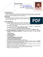 Detail CV of Ahmed Modified
