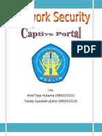 Network Security (Captive Portal) Arief-Fandy