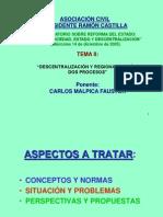 Descentralizacion y Regionalizacion Carlos Malpica