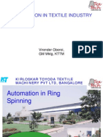 Virendra Oberoi-Automation in Ring Spinning Machines
