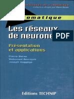 Les réseaux de neurones- présentation et applications