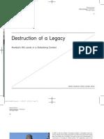 Destruction of a Legacy