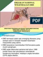 Kebijakan Pengendalian Demam Berdarah Dengue (Kalteng)