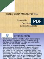Hul Supply Chain Responsiilites