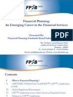 Career in Financial Planning PPT