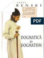 (pavel florenski) dogmatica si dogmatism