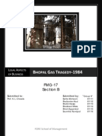 45646070 Bhopal Gas Tragedy Legal Issues[1]