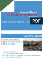 1 - 16 Dec 2011 GLOBIS GRADUATE SCHOOL OF MANAGEMENT SEMINAR