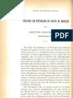 Tratado Em Defesam Da Carta de Marear _Pedro Nunes