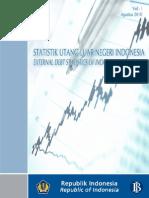 Statistik Utang Luar Negeri Indonesia Agustus 2010