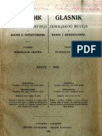 Glasnik Zemaljskog Muzeja 1925./god.37